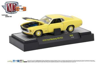 1970 Ford Mustang 428 SCJ | Model Cars