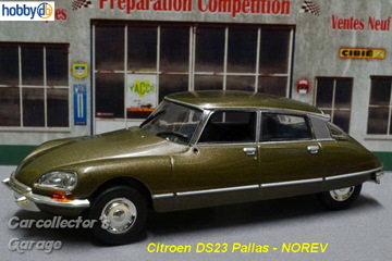 Citroen DS23 Pallas | Model Cars