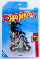 HW450F | Model Motorcycles | HW 2018 - Collector # NONE - HW Daredevils 3/5 - HW450F - Dark Yellow - International Long Card