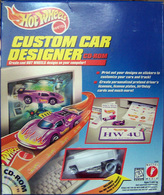 Custom Car Designer  | Model Vehicle Sets | Custom Car Designer CD-ROM / Drag Bus set