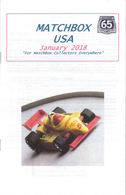 Matchbox USA Magazine January 2018 | Magazines & Periodicals