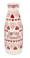 Sampler Personalised Large Milk Bottle - Emma Bridgewater | Ceramics | Sampler Large Milk Bottle