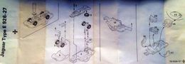 Tekno 926 927 Jaguar E Type Instructions | Manuals & Instructions | photo by Flemming
