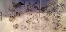 Tekno 920 Ford D800 Falck Zonen Flatbed Instructions | Manuals & Instructions | photo: Flemming