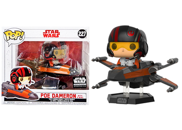 Poe Dameron with X-Wing | Vinyl Art Toys