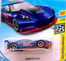Corvette C7.R | Model Cars | Hot Wheels Corvette C7.R Blue