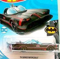 TV Series Batmobile   Model Cars   2018 Hot Wheels TV Series Batmobile Black