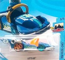 Let's Go | Model Racing Cars | 2018 Hot Wheels Lets Go Metallic Blue