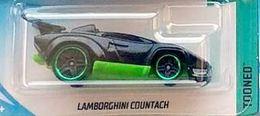 Lamborghini Countach (Tooned)   Model Cars   Hot Wheels Lamborghini Countach Black