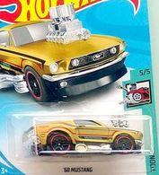 '68 Mustang    Model Cars   2018 Hot Wheels 68 Mustang Gold