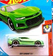 2017 Camaro ZL1   Model Cars   2018 Hot Wheels 2017 Camaro Zl1 Green