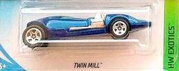 Twin Mill   Model Cars   2018 Hot Wheels Twinmill Blue