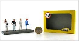 Racing Drivers- Set One   Figure & Toy Soldier Sets