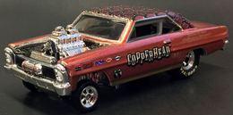 '66 Nova Gasser   Model Cars   Hot Wheels 18th Nationals '66 Nova Gasser Copper