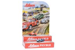 Mini Display II with Piccolo Ferrari 250 Le Mans #5 and AC Cobra #6 | Dioramas