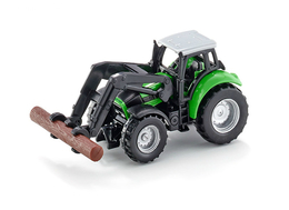 Deutz-FAHR Agrotron with Pliers for Wood | Model Farm Vehicles & Equipment