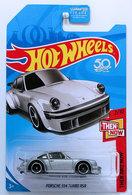 Porsche 934 Turbo RSR   Model Cars   HW 2018 - KMart Exclusive - Then And Now 2/10 - Porsche 934 Turbo RSR - Silver - USA Card