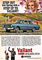 Step Out This Spring With A Step Up To Valiant | Print Ads