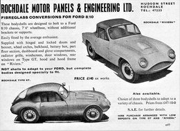 Rochdale Motor Panels And Engineering Ltd. | Print Ads