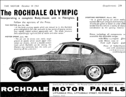The Rochdale Olympic | Print Ads