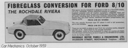 Fiberglass Conversion For Ford 8/10 | Print Ads