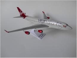 Virgin Atlantic Airways Boeing 747-400 | Model Aircraft Kits