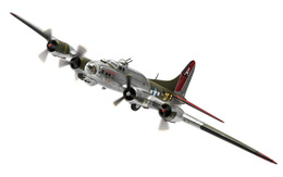 Boeing B-17G Flying Fortress 42-97880/DF-F 'Little Miss Mischief' USAAF | Model Aircraft