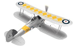 Gloster Sea Gladiator N5519/G6A No. 802 NAS HMS Glorious 1939 | Model Aircraft