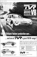 TVR Griffith 200 Series • V-8 | Print Ads