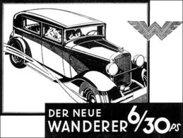 Der Neue Wanderer 6/30 PS | Print Ads