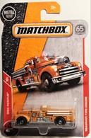 Seagrave Fire Engine (MBX Rescue) Matchbox 2018 | Model Trucks | 2018 Matchbox Seagrave Fire Engine (MBX Rescue)