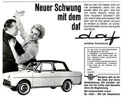 Neuer Schwung Mit Dem DAF | Print Ads