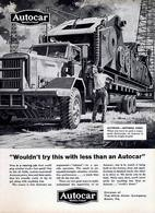 """Wouldn't Try This With Less Than An Autocar"" 