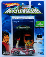 Rollin' Thunder | Model Trucks | HW 2005 - AcceleRacerS / Metal Maniacs 6/9 - Rollin' Thunder - Maroon - CM6 Wheels - Collectible Cards