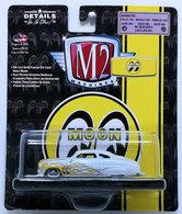 1949 Mercury Custom | Model Cars | M2 Machines 2018 - Mooneyes R45 17-38 - 1949 Mercury Custom - White