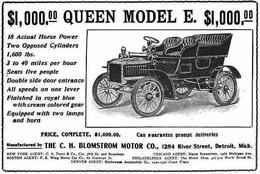 $1,000.00 Queen Model E. $1,000.00 | Print Ads