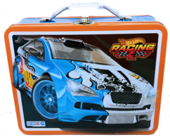 Hot Wheels Lunch Box | Carrying & Storage Cases | HW 2014 - Hot Wheels Racing Lunch Box