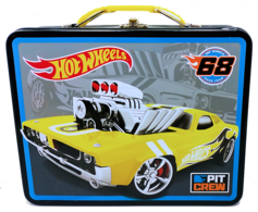 Hot Wheels Lunch Box | Carrying & Storage Cases | HW 2014 - Hot Wheels 68 Lunch Box
