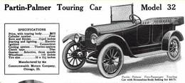 Partin-Palmer Touring Car Model 32 | Print Ads