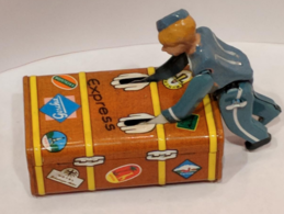Gescha Express Bell boy Tin Toy | Tinplate & Pressed Steel Toys