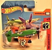 Mad Propz ( HW Daredevils) International Short Card  | Model Aircraft | 2018 Hot Wheels Mad Propz  (HW Daredevils) International Short Card