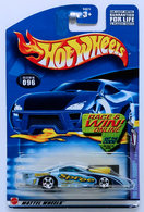 Pro Stock Firebird | Model Cars | HW 2002 - Collector # 096/240 - Sweet Rides 2/4 - Pro Stock Firebird - Metallic Blue - China - USA 'Race and Win' Card