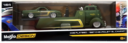 COE Flatbed & 1987 Chevrolet El Camino | Model Vehicle Sets