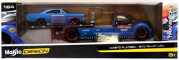 Maisto Flatbed & 1970 Plymouth GTX | Model Vehicle Sets
