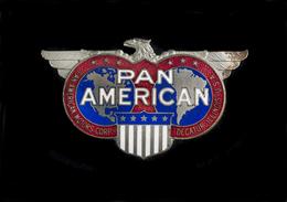 Pan-American Motor Company Radiator Emblem | Car Badges | Pan-American Motor Company Radiator Emblem.