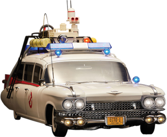 ecto 1 ghostbusters 1984 model cars hobbydb. Black Bedroom Furniture Sets. Home Design Ideas