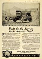 Built For The Service Trucks Must Now Yield | Print Ads