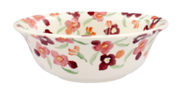 Tiny Pink Wallflower Cereal Bowl - Emma Bridgewater | Ceramics | Tiny Pink Wallflower Cereal Bowl