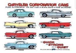 Chrysler Corporation Cars | Print Ads