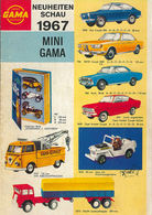 Mini Gama Catalog 1967 | Brochures & Catalogs | Front